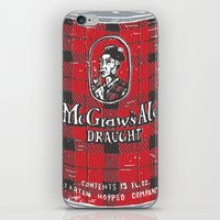 ale giorgini iPhone & iPod Skins featuring McGraws Ale by Moto