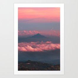 Last Mountain Art Print