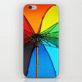 Rainbow Umbrella  iPhone Skin