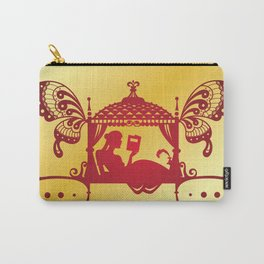 Bridal Palanquin India.doli silhouette Carry-All Pouch