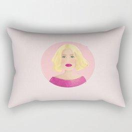 Jane - Paris, Texas Rectangular Pillow