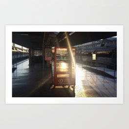 Buy the light Art Print