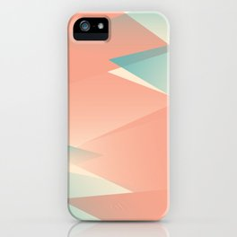Pastel Peaks iPhone Case