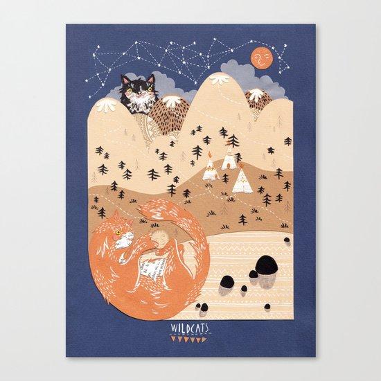 Odin and Balder Canvas Print