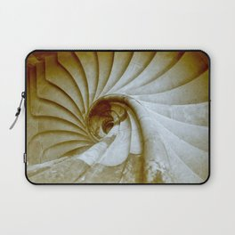 Sand stone spiral staircase 14 Laptop Sleeve