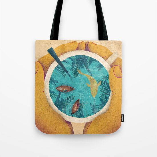 Cup of paradise Tote Bag