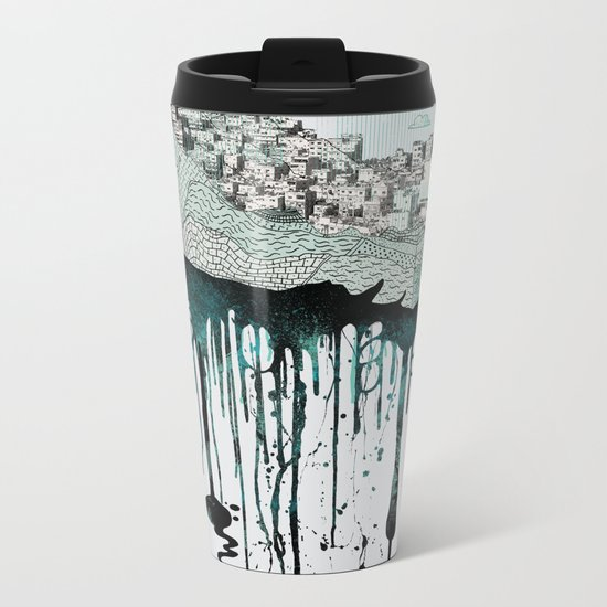 Don't let it go to waste Metal Travel Mug