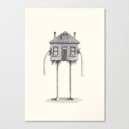 53 Arthur's Circus Canvas Print