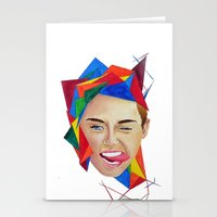 miley Stationery Cards featuring Miley by Mike Lampkin