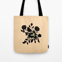 New York - State Papercut Print Tote Bag