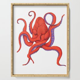 Follow Your Hearctopus Serving Tray