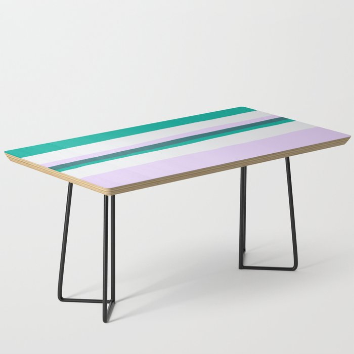 Hermosa, sunset stripes Coffee Table