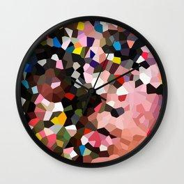 Evolution Geometric Shapes Wall Clock