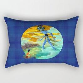 A Vision of Tlaloc Rectangular Pillow