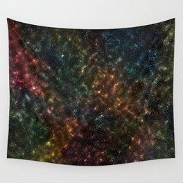 Night Sky Artwork Wall Tapestry