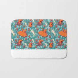 Dumbo Octopi & Squid - Blue Bath Mat