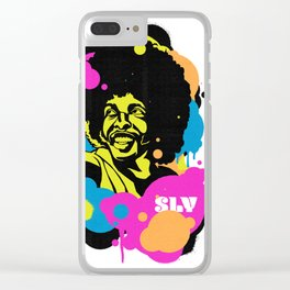 Soul Activism :: Sly Stone Clear iPhone Case