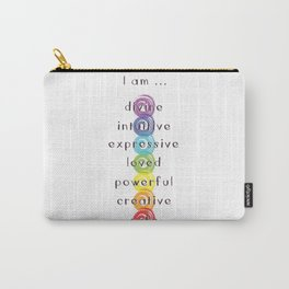 Chakra Meditation Carry-All Pouch