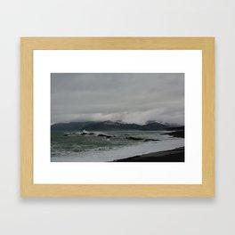 kaikoura shore II Framed Art Print