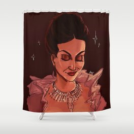 the good queen Shower Curtain
