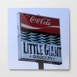 Little Giant Grocery Metal Print