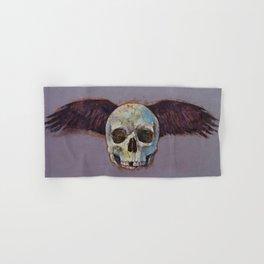 Raven Skull Hand & Bath Towel