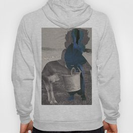 What does the world look like without anxiety and fear? Hoody