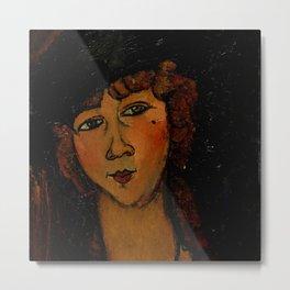 "Amedeo Modigliani ""Lolotte"" Metal Print"