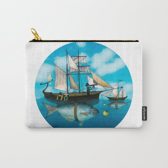 Sea Journey Carry-All Pouch