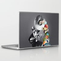 elf Laptop & iPad Skins featuring DMT Elf by Eugenia Loli