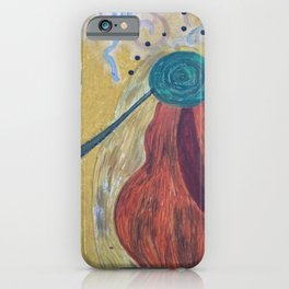 THE SMOKING ANGEL iPhone Case