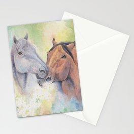 Daisy Chain Horses Stationery Cards