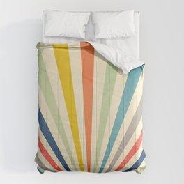 Sun Retro Art III Comforters