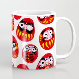 Japanese Daruma Characters Coffee Mug