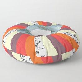 Hypno Retro Eye Floor Pillow