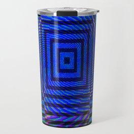 Optical Illusion Maze Travel Mug