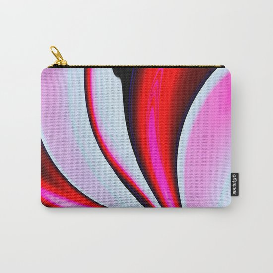Abstract Fractal Colorways 02BPk Carry-All Pouch
