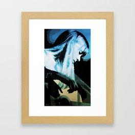 Joni Mitchell Watercolor Framed Art Print