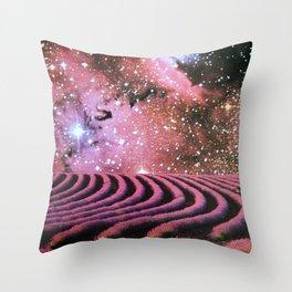 Cool Purple Mist Throw Pillow
