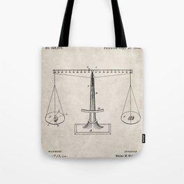 Lawyer Patent - Paralegal Art - Antique Tote Bag