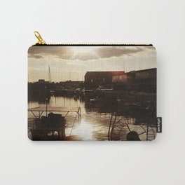 Marina ports cloudy sunset Carry-All Pouch