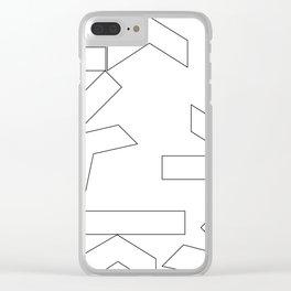 ks fun Clear iPhone Case