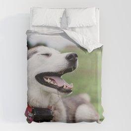Dog by Marissa Daeger Duvet Cover
