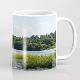 White Crane Coffee Mug