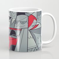 racing Mugs featuring Porsche Racing by Ale Giorgini