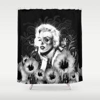 wonderland Shower Curtains featuring Wonderland by Kristy Patterson Design