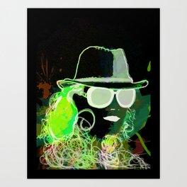 benny abstract Art Print