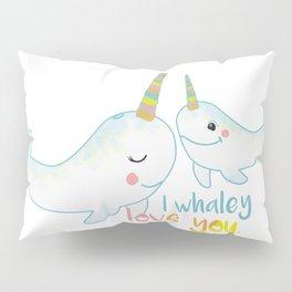 I Whaley love you. Pillow Sham