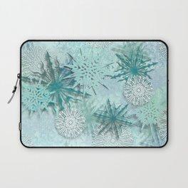 snowflakes Laptop Sleeve