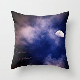 Mark's Moon #152 Throw Pillow